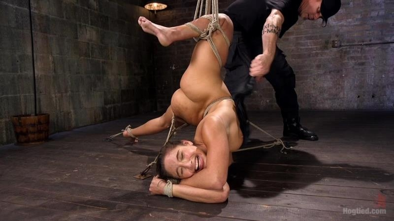 Abella Danger in 19 Year Old Rope Slut Suffers in Extreme Bondage Porn (Teen, Young) Kink [HD 720p] (2018)