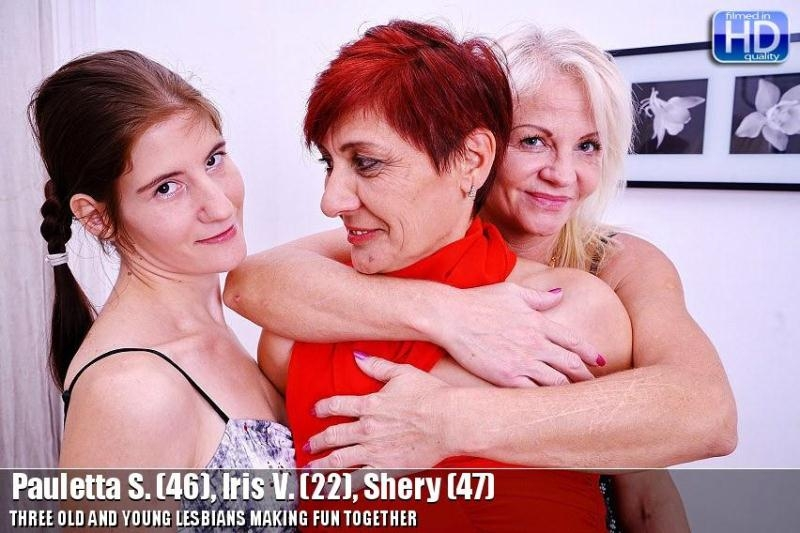 Lesbians Orgy (Lesbian) old-and-young-lesbians [SD 406p] (2018)