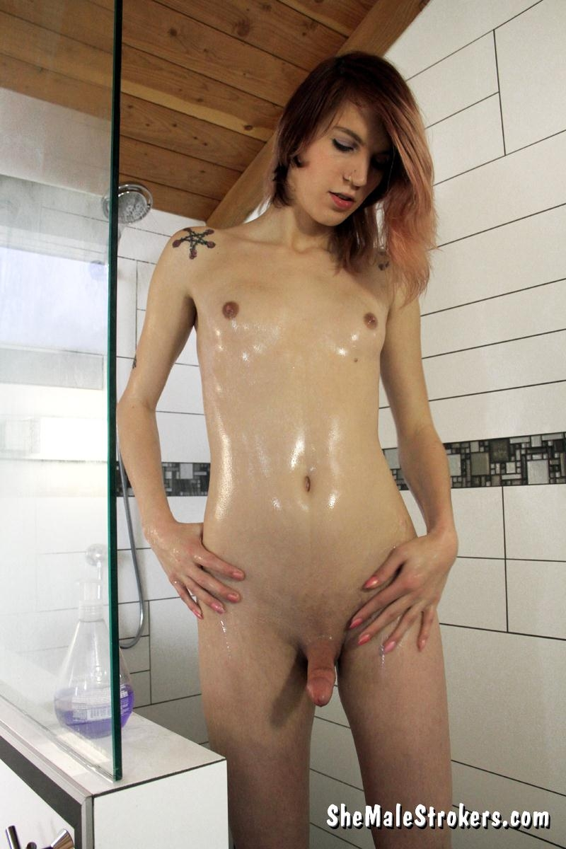 Sultry Trans Girl Wants To Get Hot, Wet And Sticky With You! (Shemale) Sh3M4l3Str0k3rs [FullHD 1080p] (2018)