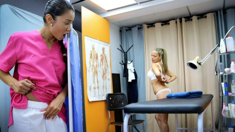 Helena Kramer, Jade - A very physical therapist (Blonde) CumLouder [SD 540p] (2018)