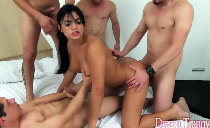 Taryn thomas gangbanged hard by 5 men - 5 6
