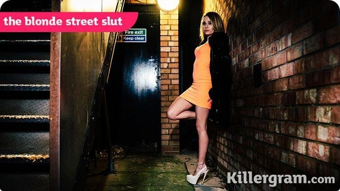 The Blonde Street Slut (Blonde) Killergram [HD 720p] (2018)