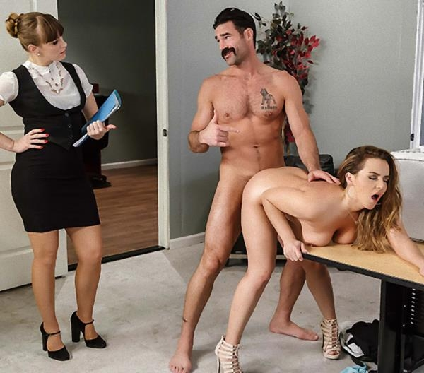 Office Initiation (Blowjob) Natasha Nice, Charles Dera [SD] (2018)