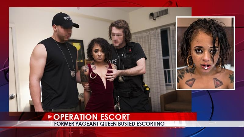 Holly Hendrix - Former Pageant Queen Busted Escorting (Teen, Young) OperationEscort [SD 480p] (2018)