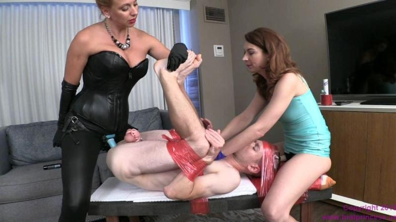 Monicamilf pegging and strapon stretching of her sub norsk - 3 part 8