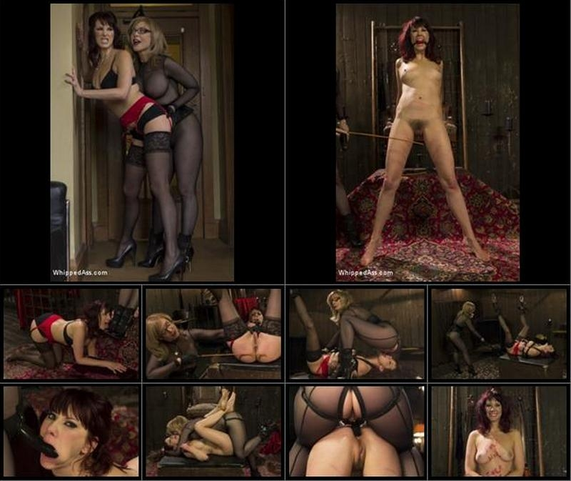 Maitresse Madeline, Nina Hartley - Retribution: Maitresse Madeline taken down, dominated and anally fucked by Nina Hartley! (Femdom) WhippedAss.com [SD] (2017)