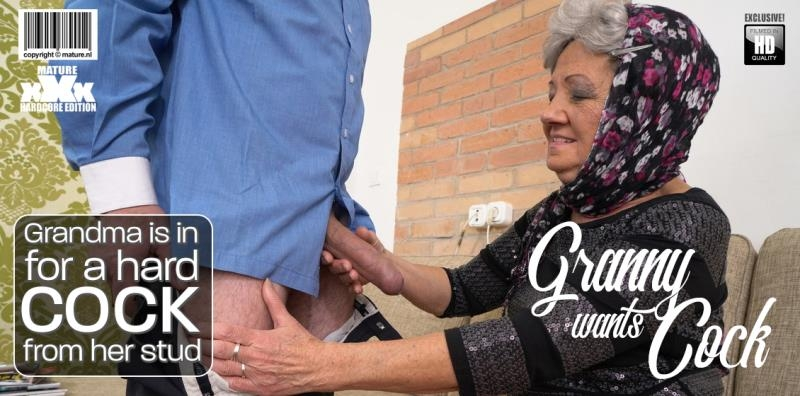 Hanna D. (72) - Grandma is in for a hard cock from her stud () Mature.nl [SD] ()