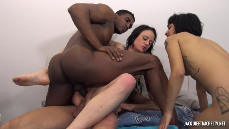 Angelina  Candy - The Total Surprise For Candy! (Gangbang) JacquieEtMichelTV.net [SD]