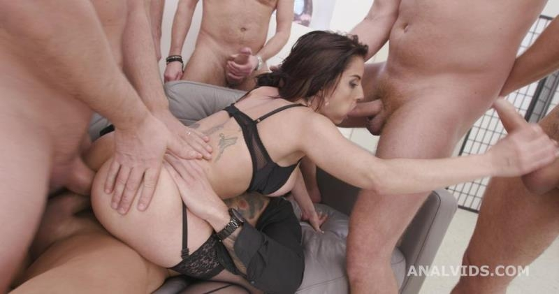 Bianka Blue - 7on1 Double Anal Gangbang goes wet with Bianka Blue, Balls Deep Anal, DAP, Pee Drink, Gapes and Swallow GIO1734 (Gangbang) LegalPorno.com [SD]