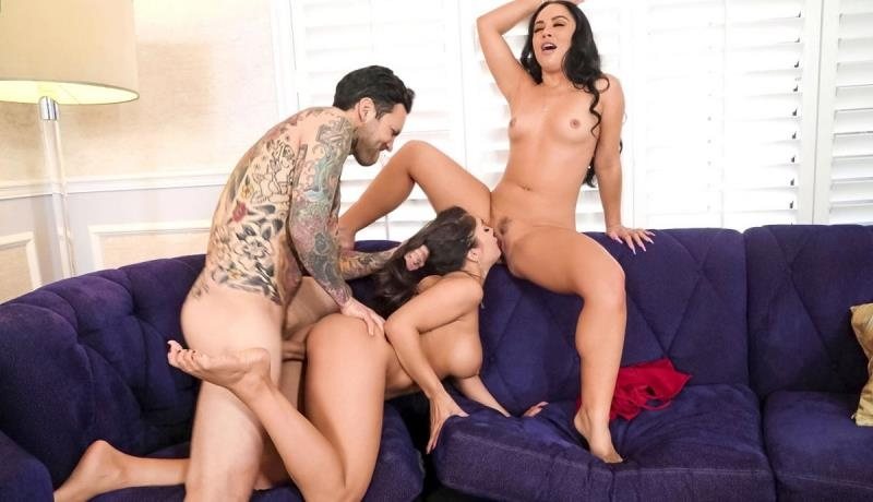 Kristina Rose, Tru Kait - Two Wives, One Cock (Blowjob) BrazzersExxtra.com [SD]